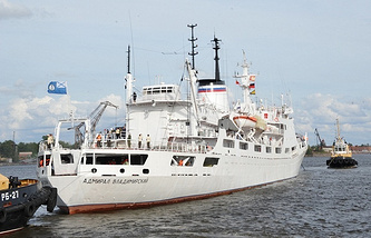 Admiral Vladimirsky research ship