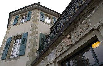 CAS headquarters in Lausanne