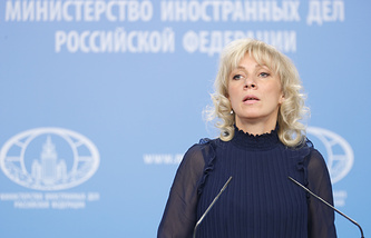 The official spokesperson for the Russian Foreign Ministry Maria Zakharova