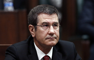 Turkish National Defense Minister Nurettin Canikli