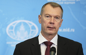 Russian Envoy to the Organization for the Prohibition of Chemical Weapons Alexander Shulgin