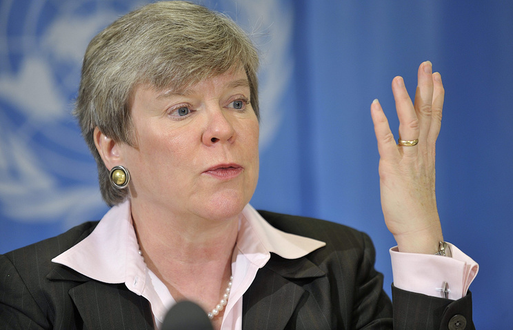 Acting US Undersecretary of State for Arms Control and International Security Rose Gottemoeller