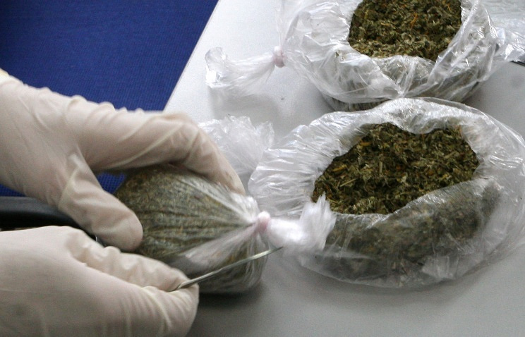 """Synthetic smoking mix known as """"spice"""" confiscated by Federal Drug Control Service"""