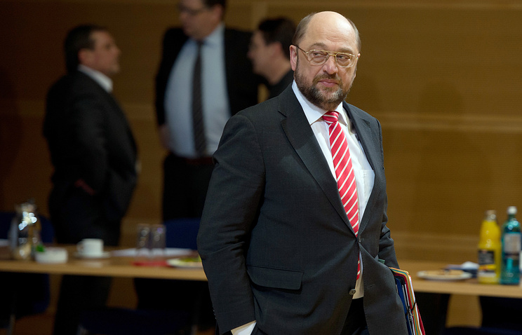 President of the European Parliament Martin Schulz