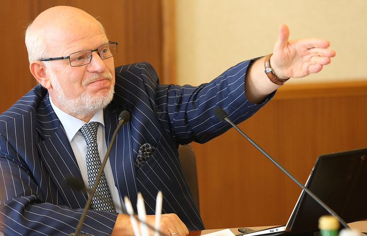 Chairman of the Russian Council for Civil Society and Human Rights Mikhail Fedotov