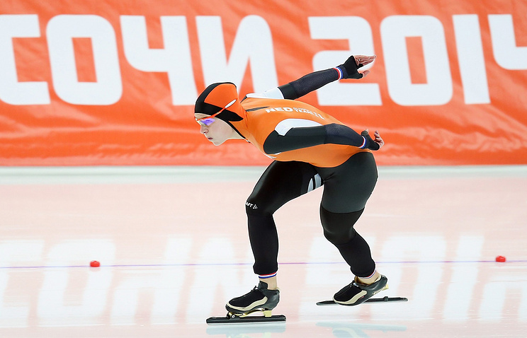 Dutch speed skater Ireen Wust