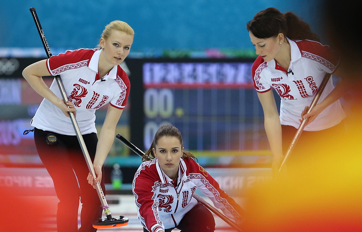 Russian women's curling team