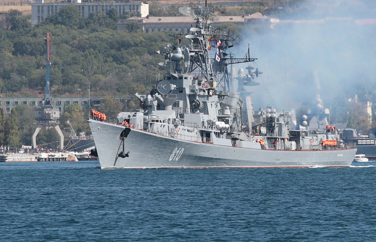 Russian naval base in Sevastopol