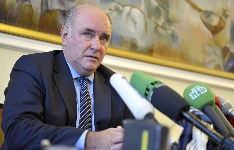 Head of Russian delegation, Deputy Minister of Foreign Affairs Grigory Karasin