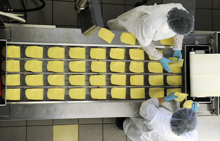 At a cheese factory (archive)