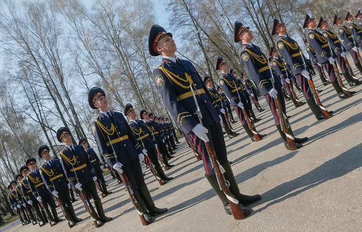 Ukrainian National Guard training