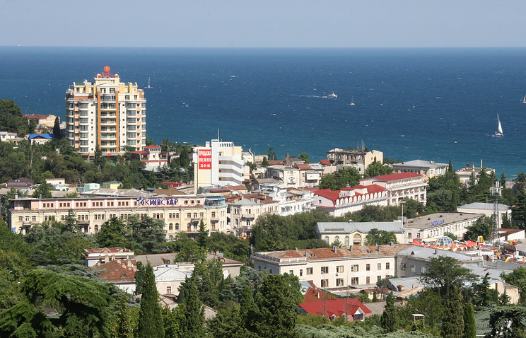 A view of Crimea's Yalta