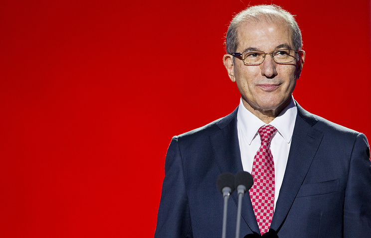 Secretary General of the Organization for the Prohibition of Chemical Weapons (OPCW) Ahmet Üzümcü