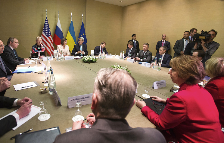 Meeting on the Ukrainian crisis in Geneva