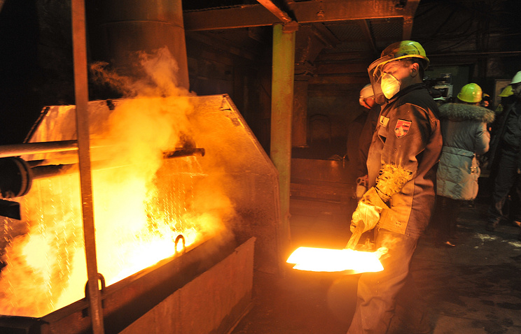 Norilsk Nickel production facility (archive)