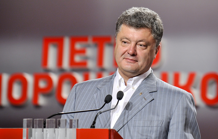 Petro Poroshenko is leading in the presidential elections