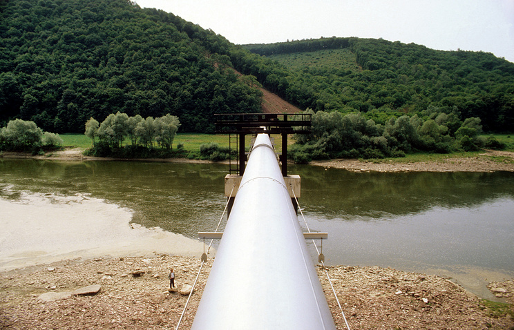 Urengoy-Pomary-Uzhgorod gas pipeline (archive)
