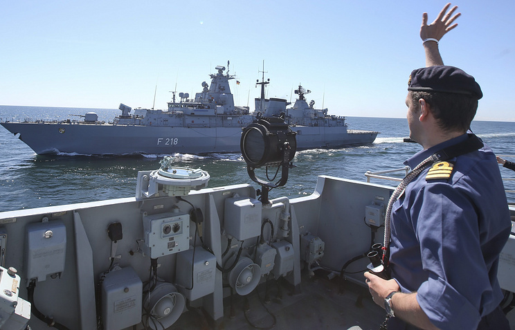 BALTOP 2014 NATO naval exercise in the Baltic Sea