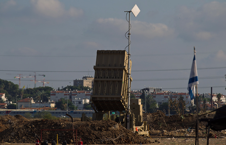 Israeli 'Iron Dome' anti-missile defense system