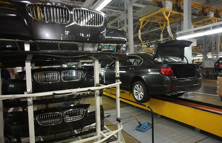 BMW assemled at Russia's AVTODOR plant (archive)