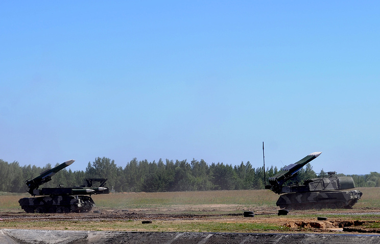 Buk-M1 medium-range anti-aircraft missile systems (archive)