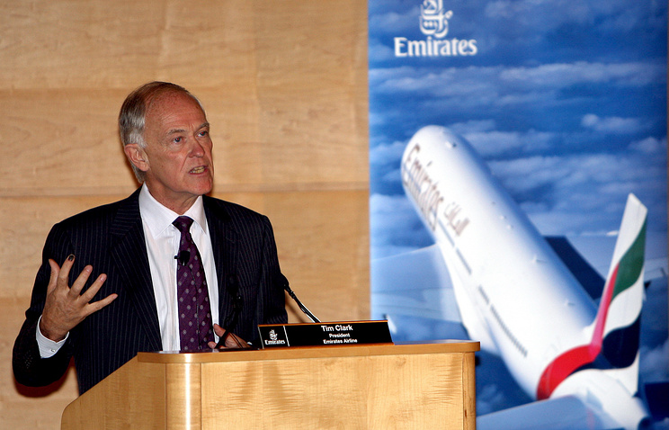 Emirates CEO Tim Clark