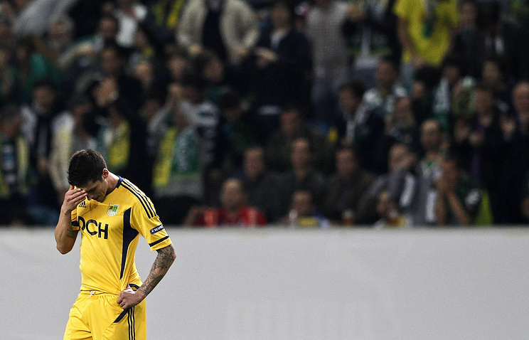 Jose Sosa of FC Metalist