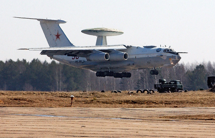 A-50 airborne early warning and control (AEW&C) aircraft