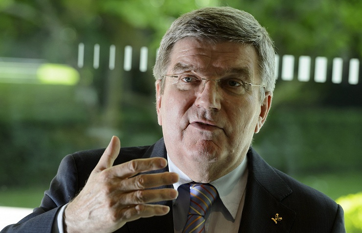 President of the International Olympic Committee (IOC) Thomas Bach