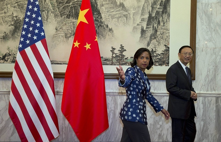 Susan Rice and Yang Jiechi