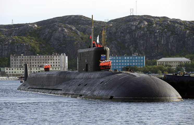 Borei-class ballistic missile submarine of the Project 955 Yuriy Dolgorukiy
