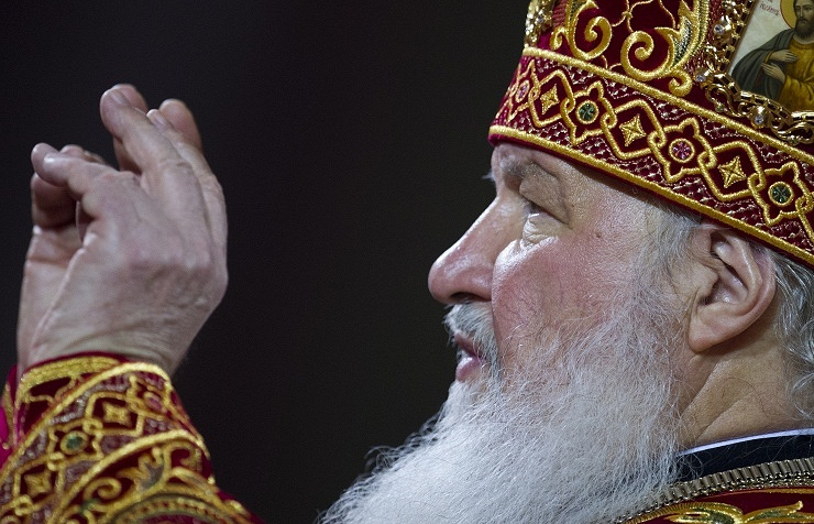 Patriarch Kirill of Moscow and all-Russia