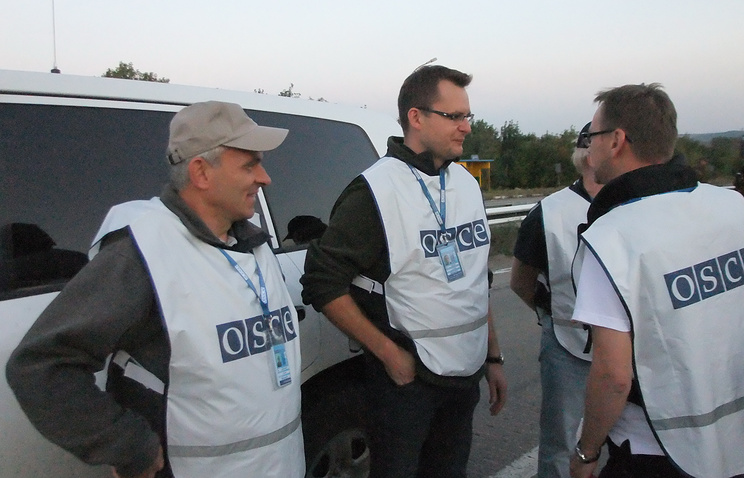 OSCE observers in Ukraine