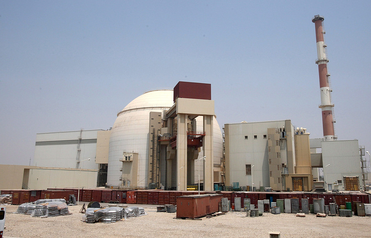 Iranian nuclear power plant in Bushehr