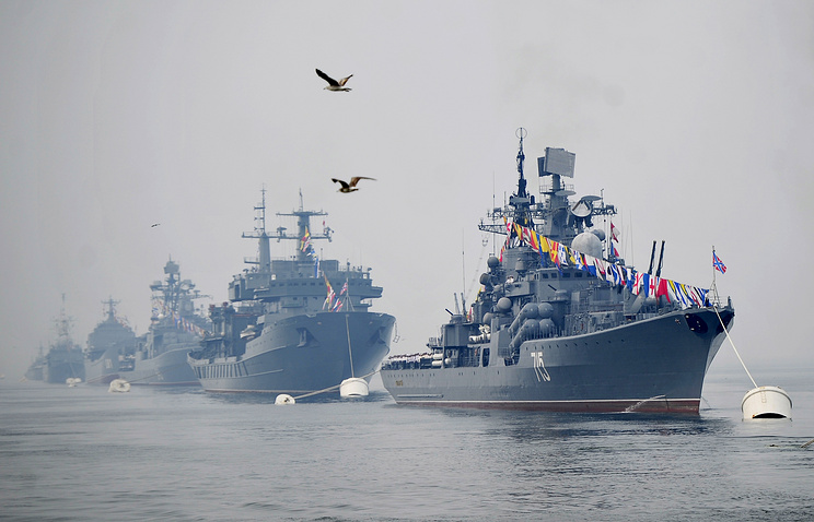 Ships of the Russian Pacific Fleet