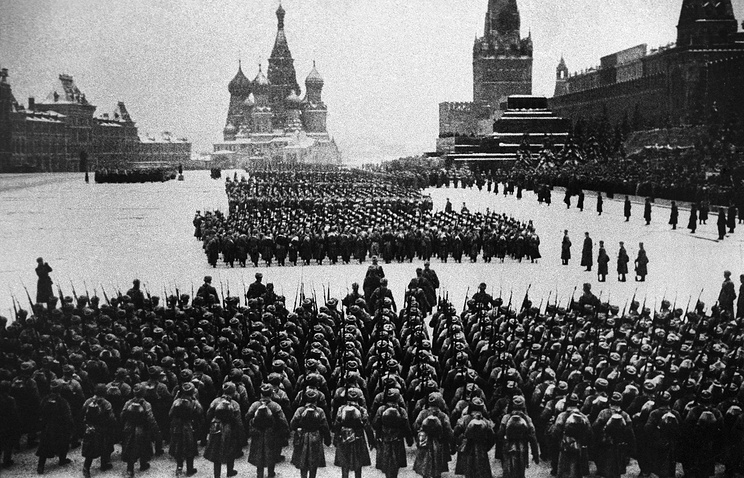 Military parade on November 7, 1941 (archive)