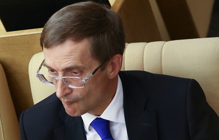 Deputy chairman of Russia's lower house of parliament Nikolay Levichev