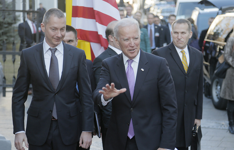 US Vice President Joe Biden in Kiev