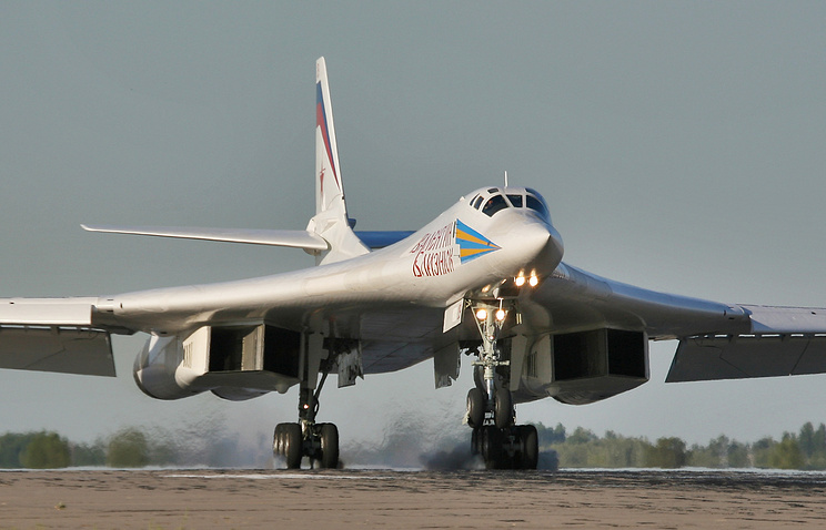 Strategic bomber Tu-160