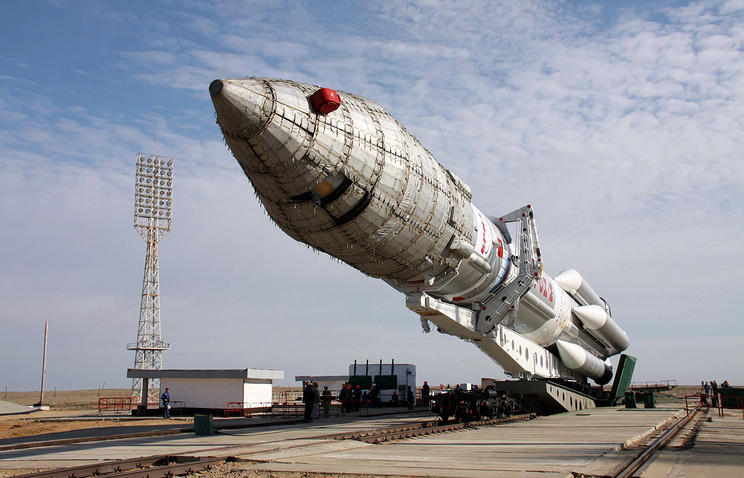 Proton carrier rocket
