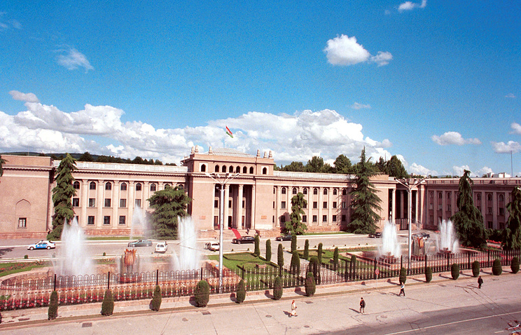 Presidential residence in Tajikistan's Dushanbe (archive)