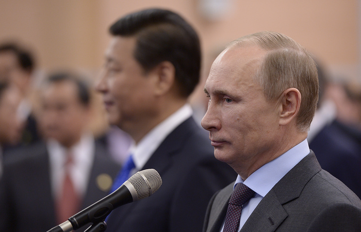 Chinese president Xi Jinping and Russian president Vladimir Putin (archive)