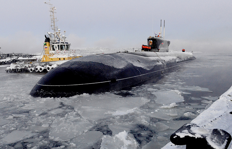 Borei-class strategic nuclear submarine Vladimir Monomakh
