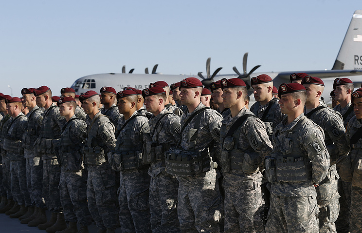 Members of the U.S. Army 173rd Airborne Brigade