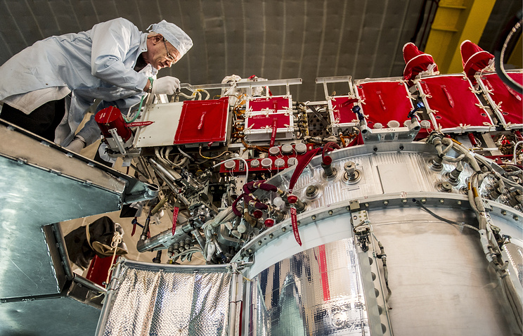 Glonass-M at the JSC Reshetnev Information Satellite Systems