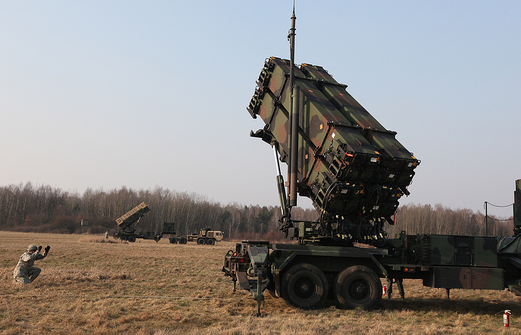Joint US-Polish air defense drills, March 21, 2015