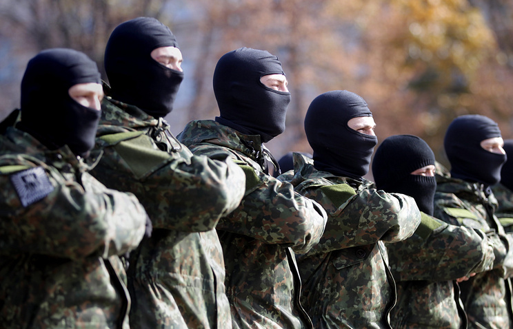 Azov battalion fighters
