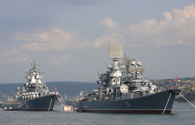 Russian Black Sea Fleet ships