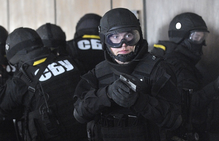 Ukraine's Security Service operatives