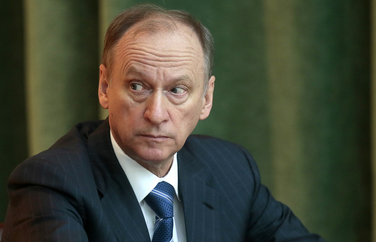 Russia's Security Council chief Nikolai Patrushev